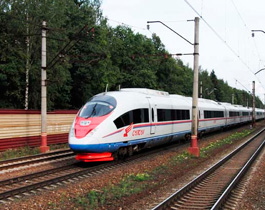 Geological and geodesic surveys for the designing of the high-speed railway Moscow-Kazan